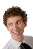 Sonrisas del hombre joven imágenes de archivo libres de regalías