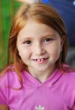 Sonrisas del niño Fotografía de archivo libre de regalías
