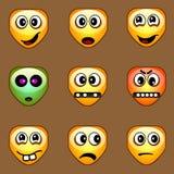 Sonrisas (dimensión de una variable no estándar) Imagen de archivo libre de regalías