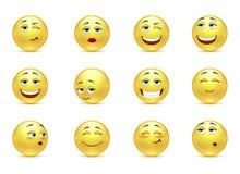 Sonrisas divertidas Imágenes de archivo libres de regalías
