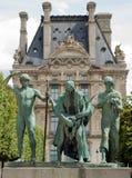 Sons of Cain. The Sons of Cain (Les fils de Cain) by Paul Landowski in Paris, France. Paul Maximilien Landowski was a Polish-French monument sculptor. His best stock images