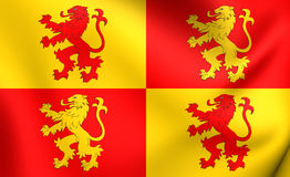 Sons of Glyndwr Flag Royalty Free Stock Images