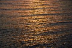 Sonset på Stilla havet fotografering för bildbyråer