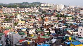 Sontang, South Korea. High density housing and commerical in Sontang, South Korea Royalty Free Stock Photo