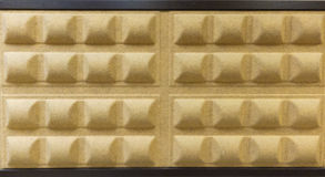 Sonundproof Wall. Background image of a wall in recording studio sound Stock Photography