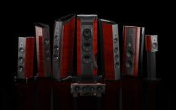 Sonus faber top speakers Stock Photo
