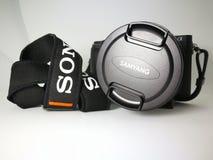 Sony a6300 με τους φακούς 12mm samyang στοκ φωτογραφία με δικαίωμα ελεύθερης χρήσης