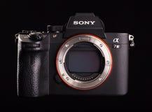 Sony Alpha a7 III - chambre noire numérique mirrorless de photo photos libres de droits