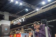 Sony bei Photokina 2016 Lizenzfreies Stockbild