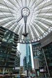Sony Berlín de centro imagen de archivo libre de regalías