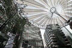 Sony building. At Potsdamer Platz, Berlin, Germany Stock Image