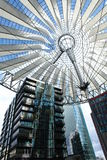 Sony Center. In Berlin, Germany Royalty Free Stock Images