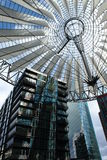 Sony Center. In Berlin, Germany Stock Images