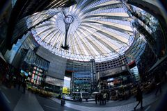 Sony Center Royalty Free Stock Photo