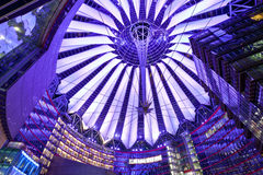 Sony Center Royaltyfria Bilder