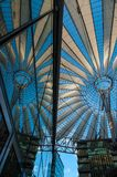 Sony Center. Amazing roof at Sony Center in Berlin, Germany Royalty Free Stock Photos