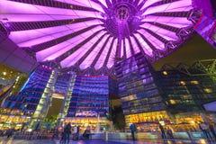 Sony Center av Berlin Fotografering för Bildbyråer
