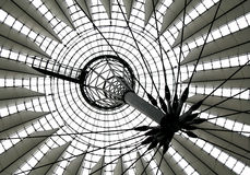 Sony Center Berlin. Roof of the Sony Center in Berlin Royalty Free Stock Images