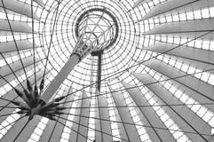 Sony Center Berlin. The architecture of th Sony Center in Potsdamer Platz Berlin Royalty Free Stock Photos