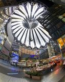 Sony Center in Berlin. Sony center in Potsdamer Platz in Berlin, Germany. May 6, 2012 royalty free stock photos