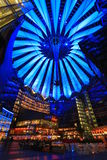 Sony Center Berlin photographie stock libre de droits