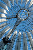 Sony Center in Berlin. Roof of the Sony Center in Berlin Royalty Free Stock Photography