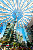 Sony Center Berlin Royaltyfri Bild