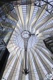 Sony Center in Berlin Stockfotos