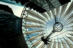 Sony Center in Berlin Royalty Free Stock Photo