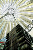 Sony Center in Berlin. Hi-Tech/Modern architecture of the Sony Center in Berlin Stock Image