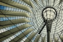 Sony Center in Berlin Royalty Free Stock Photos