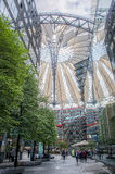 Sony center, Berlin. Sony center in Berlin, architectural marvel Royalty Free Stock Photo