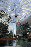 Sony Center. Berlin. The Sony Center is a building complex. Ensemble of buildings at Potsdamer Platz in the heart of the German capital, one of the symbols of Royalty Free Stock Photo