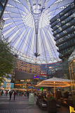 Sony Center Berlin. The Sony Center is a building complex. Ensemble of buildings at Potsdamer Platz in the heart of the German capital, one of the symbols of the Royalty Free Stock Photo
