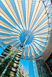 Sony Center Berlin. A canopy at the Sony Center office location at Potsdamer Platz in downtown Berlin, Germany Stock Photos