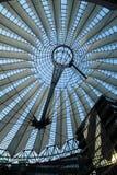 Sony center in Berlin city. Landmark of Berlin. The Sony center in Potsdam Square in the West Berlin stock photos