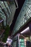 Sony Center in Berlin. Sony commercial center in Postdamar Platz at night Royalty Free Stock Image