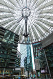 Sony center Berlin. Sony center in Berlin at day Royalty Free Stock Image
