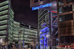 Sony-Center in Berlin Stock Image