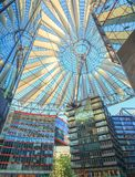 Sony Center - Berlin - Germany Royalty Free Stock Photos