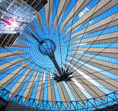 Sony Center, Berlin Germany. The Roof of the Sony Center Berlin Germany Stock Images