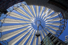 Sony Center, Berlin Germany Stock Photography