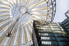 Sony Center, Berlin, Germany Royalty Free Stock Photography
