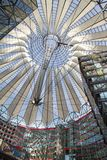 Sony center, Berlin, Germany Royalty Free Stock Image