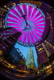 Sony center Berlin. Sony center in Berlin at night Royalty Free Stock Photo