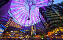 Sony Center Berlin. Sony Center at the Postdamer Platz in Berlin. Germany royalty free stock photos