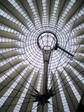 Sony Center in Berlin. Potsdamer Platz Stock Photo