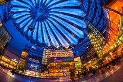 Sony Center Berlin Royalty Free Stock Photography