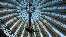Sony center Berlin. The roof of the Sony center Berlin Stock Images