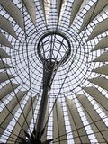 Sony Center, Berlin. The roof of the Sony Center near Posdamer Square in Berlin, Germany Stock Photos